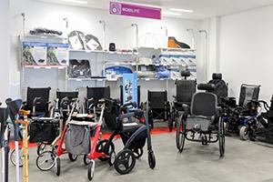 fauteuil roulant déambulateur mobilité spécialiste handicap bastide le confort médical lesquin